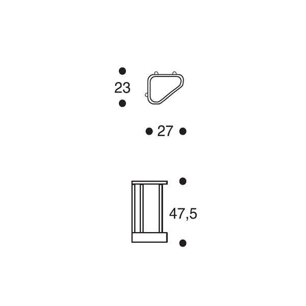 Artek 115 Sateenvarjoteline Alvar Aalto