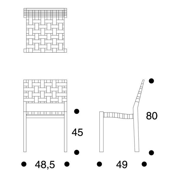 611 tuoli artek alvar aalto