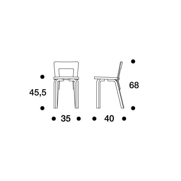 65 tuoli artek alvar aalto