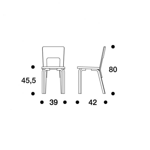 66 tuoli alvar aalto artek