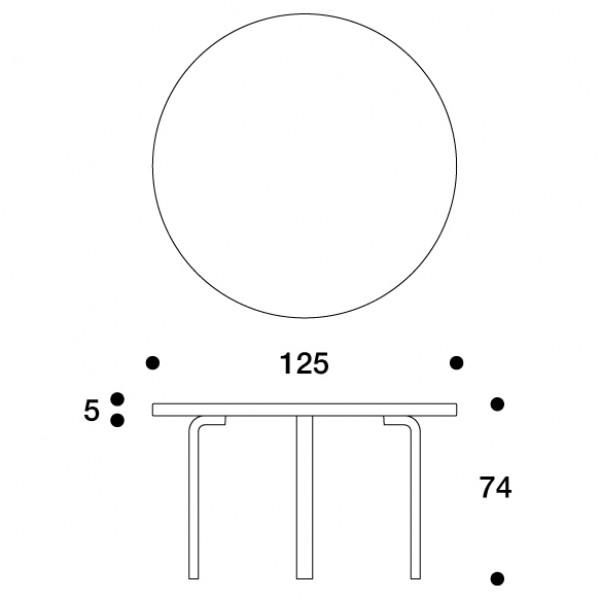 91 pöytä artek alvar aalto