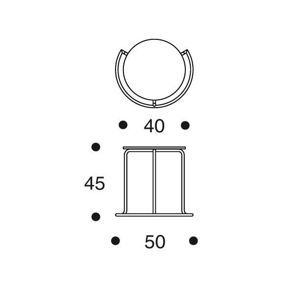 606 sivupöytä artek alvar aalto