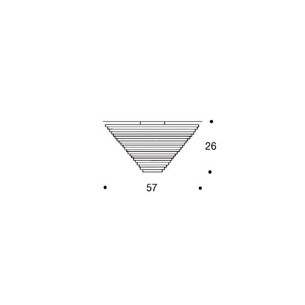 Artek Alvar Aalto valaisin A622A