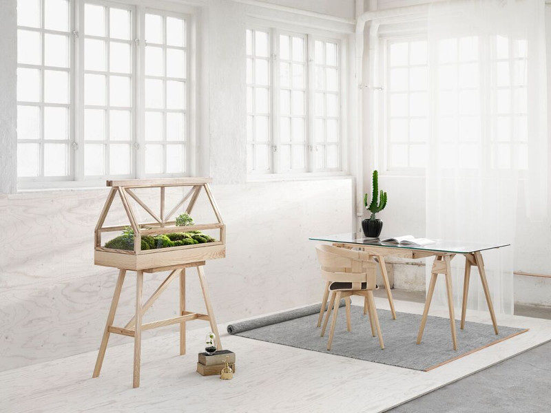 DHS Design House Stockholm Lena Bergström Björk matto