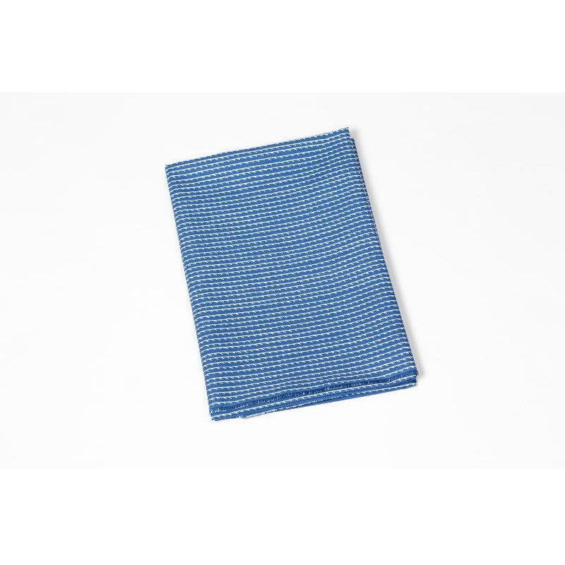 artek bouroullec rivi kangas sininen valkoinen