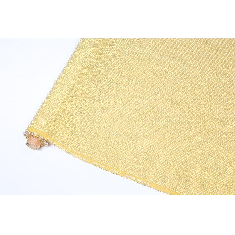 artek rivi kangas bouroullec sinapinkeltainen valkoinen