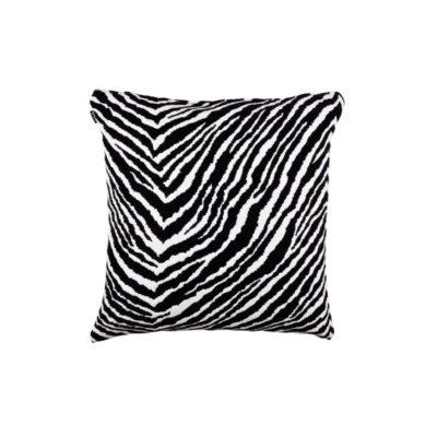 artek zebra tyynynpäällinen iso musta valkoinen