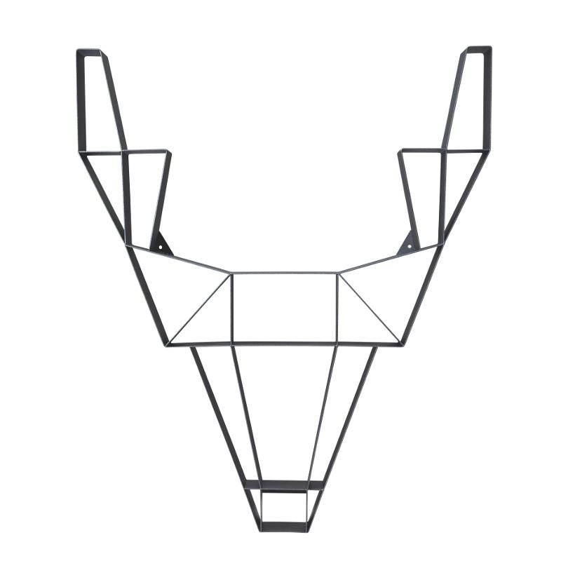 Deer hylly, pieni musta – Porin Kalustetalo