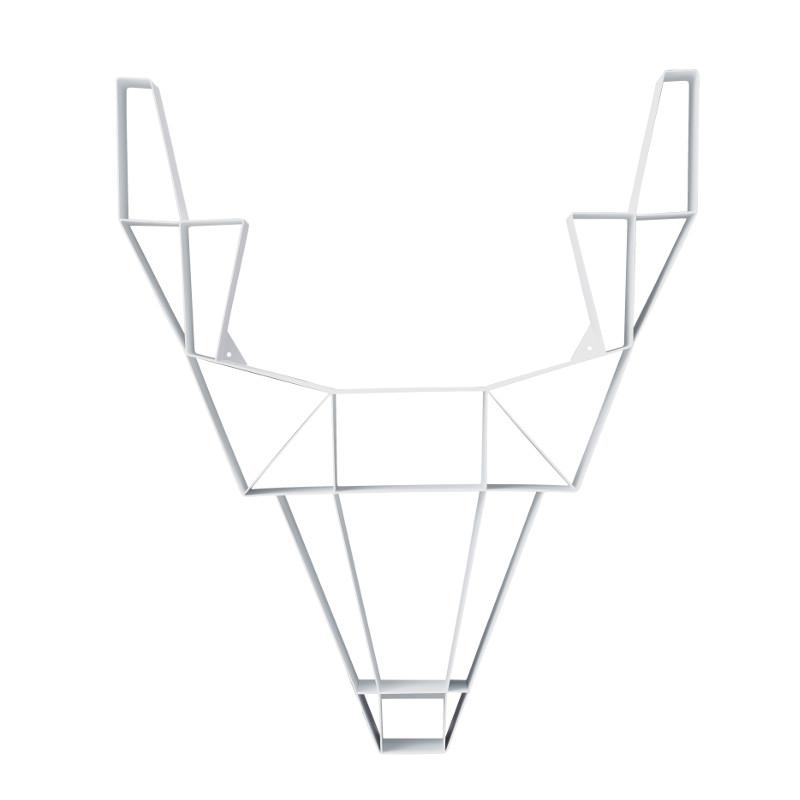 Deer hylly, pieni valkoinen – Porin Kalustetalo