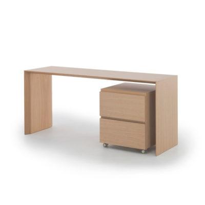 slimmi työpöytä ja tuplamoduli laatikosto pirkko stenros
