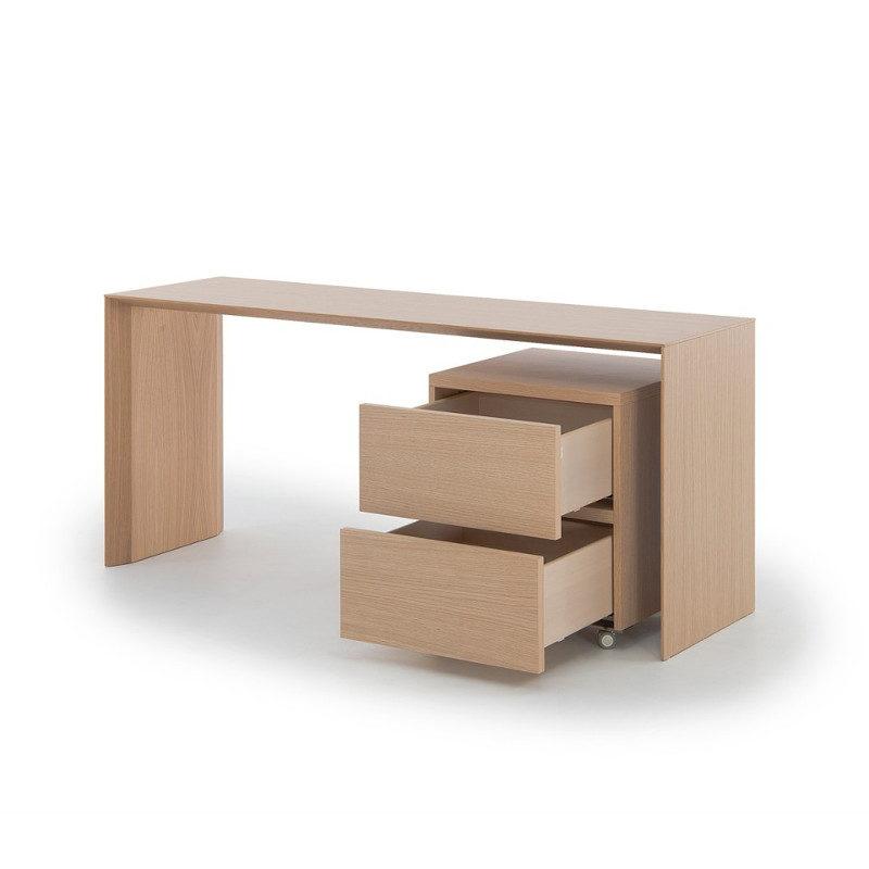 slimmi työpöytä ja tuplamoduli laatikosto muurame pirkko stenros