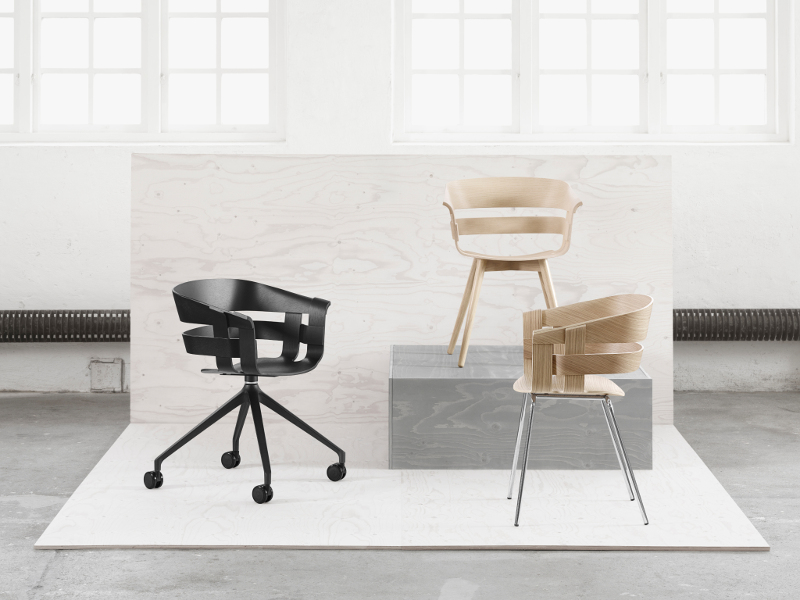 DHS Design House Stockholm wick tuoli Jesper Ståhl Karl Malmvall