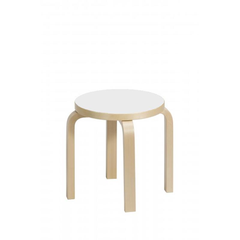 artek NE60 lastenjakkara valkoinen laminaatti Alvar Aalto