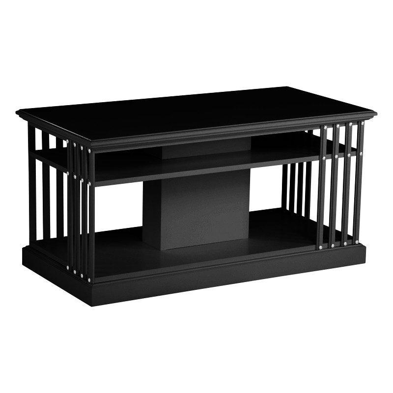 boknäs sohvapöytä maalattu musta