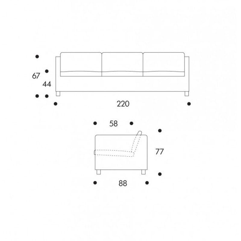 Artek sohva 533