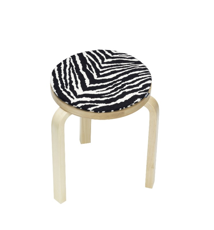 Zebra istuintyyny Artek Aino Aalto