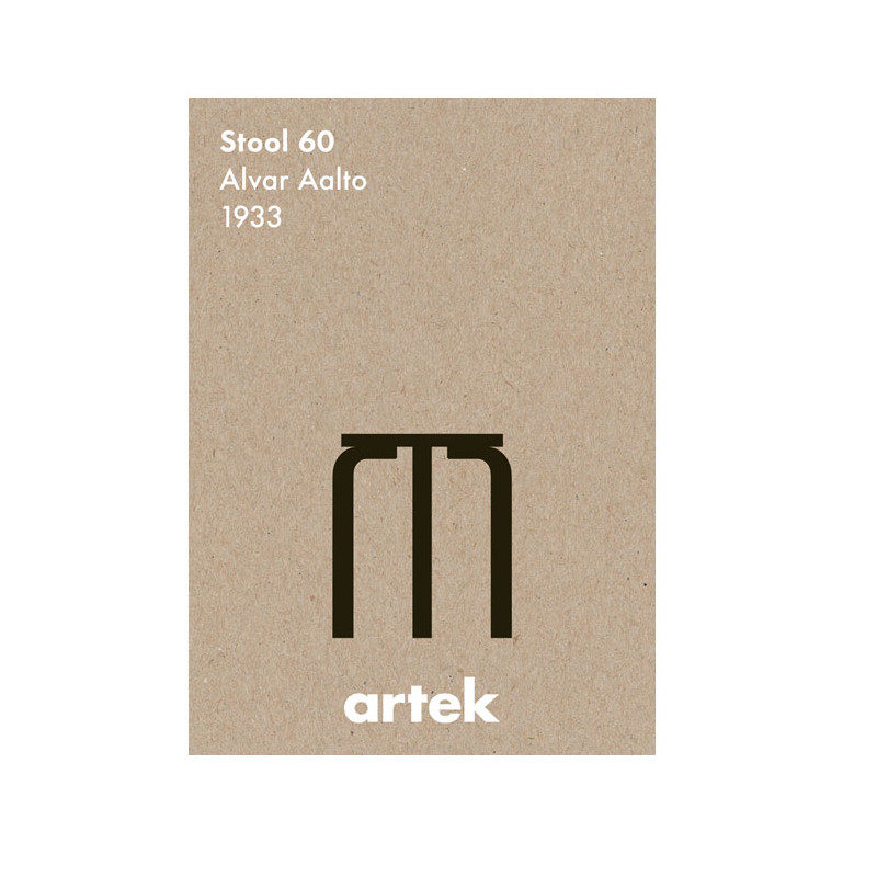 stool 60 greige juliste artek