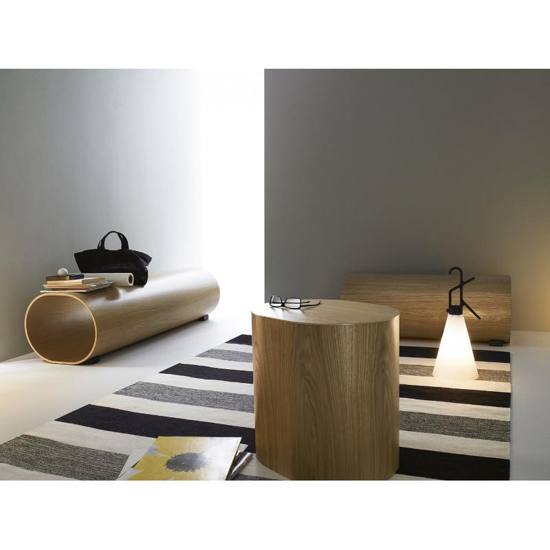 Swedese Log Naoto Fukasawa jakkara penkki sivupöytä