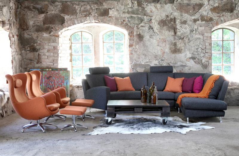 Bröderna Anderssons Roma sohva G.A.Berg