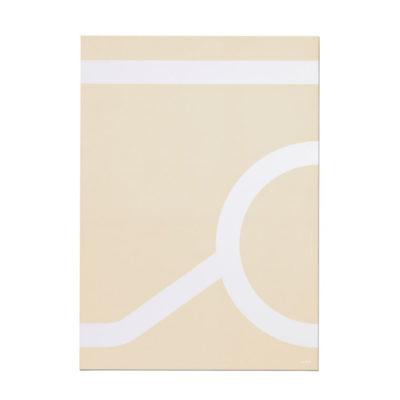 Artek Outline tarjoiluvaunu 900 juliste beige