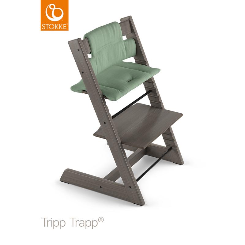 Stokke Tripp Trapp pehmuste timeless green